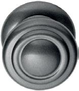 Bouton fixe rond (vieux fer)