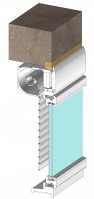 CRX, volet roulant intégré à enroulement extérieur (Rénovation)