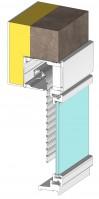 Ite'M, volet roulant intégré à enroulement extérieur (Modernisation)