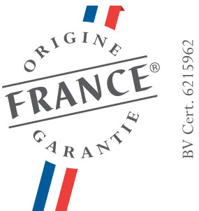 Logo Origine France Garantie pour les menuiseries Solabaie