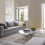 Fenêtre intérieur aluminium bicolore beige
