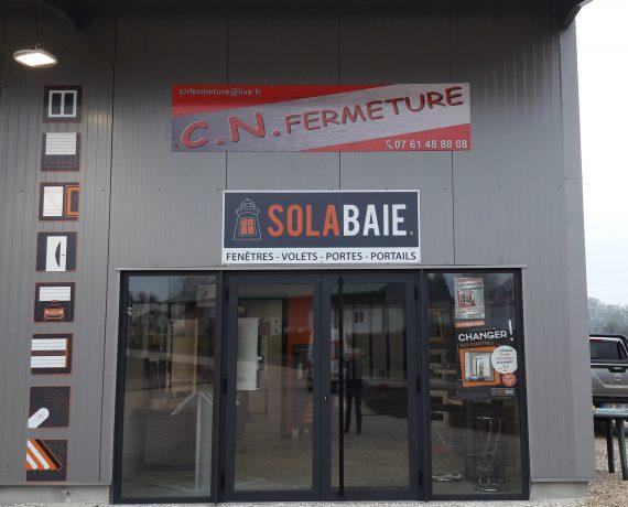 Entrée du magasin de votre installateur Solabaie CN Fermeture