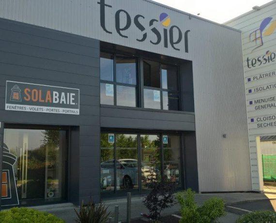 Devanture du magasin de l'installateur Solabaie Tessier