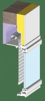 Volet roulant Act'O à coffre tunnel 1/2 linteau (Construction)