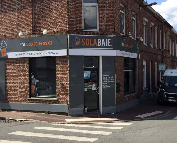 Devanture du magasin de votre installateur Solabaie FDI à Tourcoing